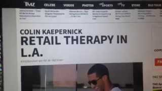 Colin Kaepernick | TMZ Fooled By Colin Kaepernick LA Photo
