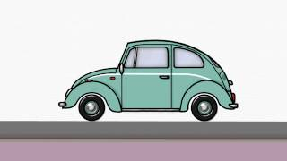 How To Draw Volkswagen Beetle #2 | Draw VW | Step by Step Easy