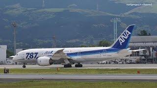 熊本空港 All Nippon Airways (ANA) Boeing 787-8 Dreamliner JA821A 2015.4.29