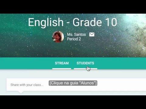 Como funciona o Google Classroom
