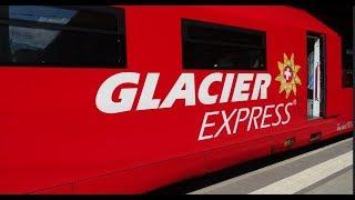 видео Glacier Express в Швейцарии