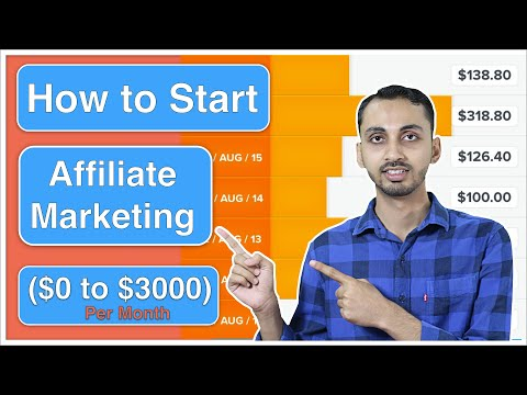 How to Start Affiliate Marketing for Beginners? (Step-by-Step Tutorial) 2020 thumbnail