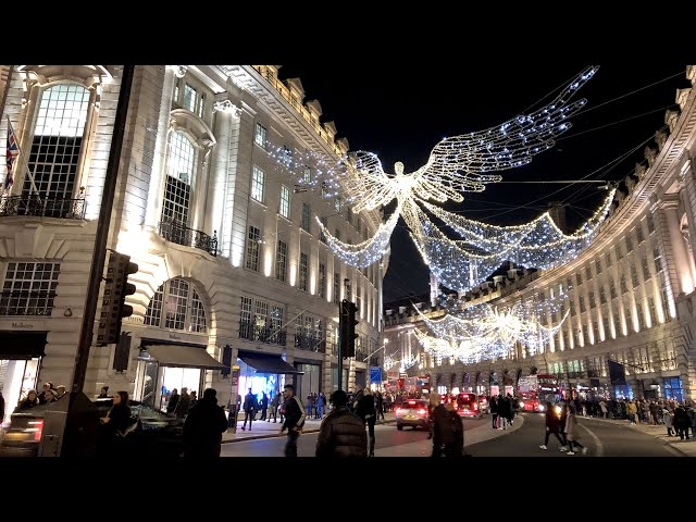 Christmas in London - 4K