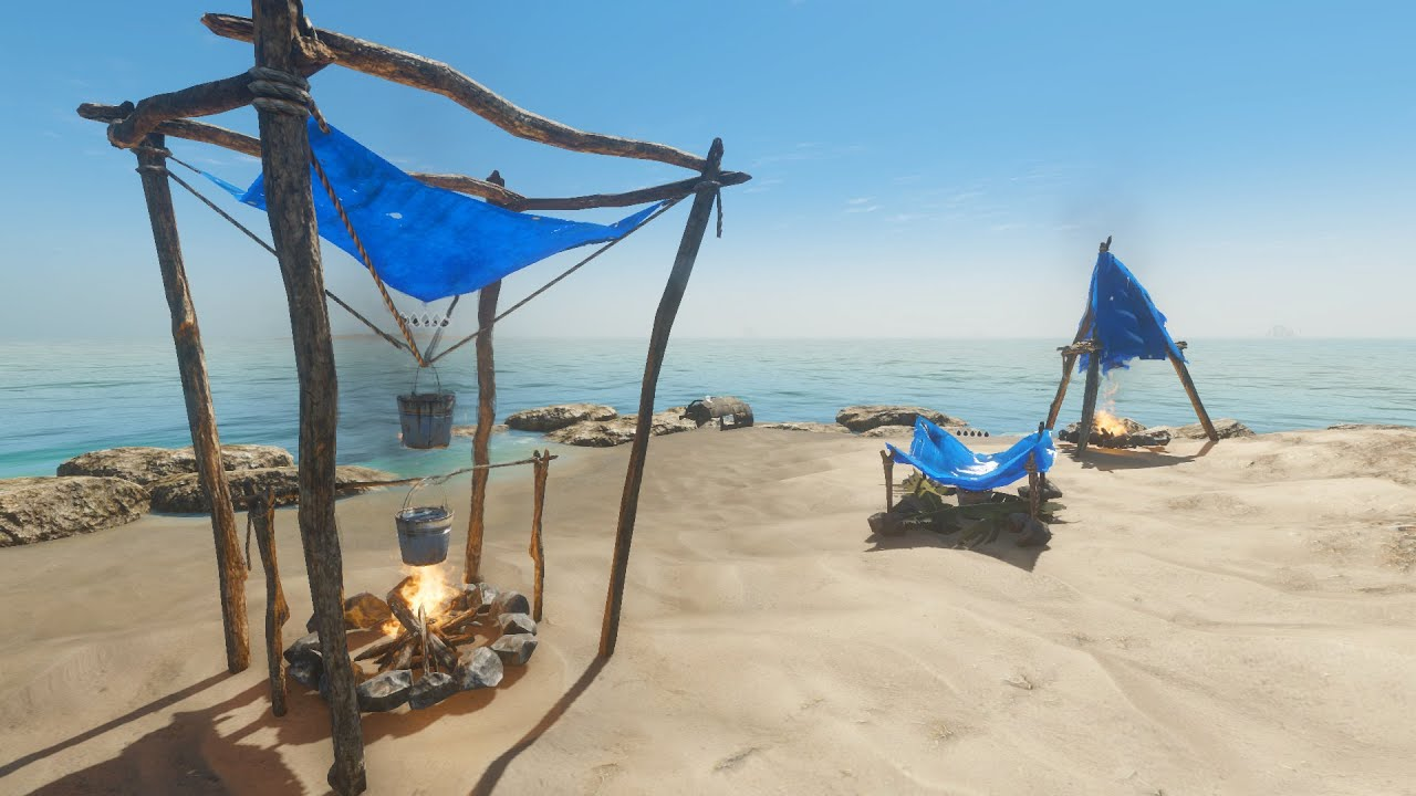 Stranded Deep How to use the Water Still Water Collector and