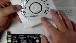 Product Showcase Siig SoundWave 7.1 PCI sound card