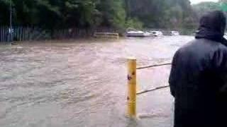 outo kumpu floods nr sheffield meadowhall 2007 yorkshire