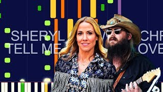"Sheryl Crow ft. Chris Stapleton - TELL ME WHEN IT'S OVER (PRO MIDI REMAKE) - ""in the style of"""