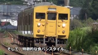 【迷列車REPORTvol.26】西果ての食パン電車たち【広セキT編成】