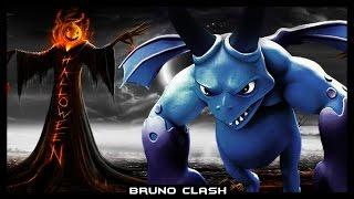 SERVOS DO MAL NO DESAFIO DE HALLOWEEN - Clash of Clans - Bruno Clash