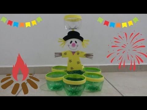 Diy Porta Doces Para Festa Junina Dicas De Enfeites Juninos Youtube