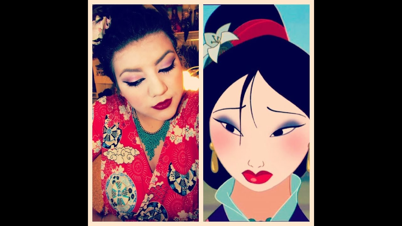 Disney S Mulan Makeup Tutorial Youtube