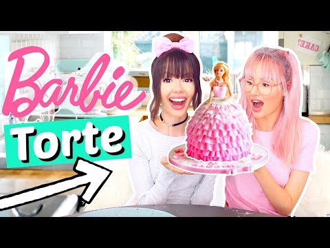wir backen eine BARBIE TORTE 🎂 | ViktoriaSarina