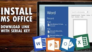 How to download & Install MS office 2007 100% Free Full version with serial Key