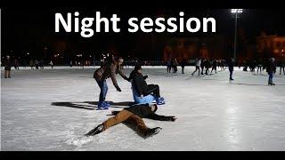 Download lagu Old Man Ice Skating Prank PART 3 / Night session / Acroice