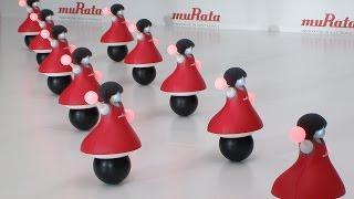 Murata Cheerleader Robots Dance in Synchronization While Balancing on Balls