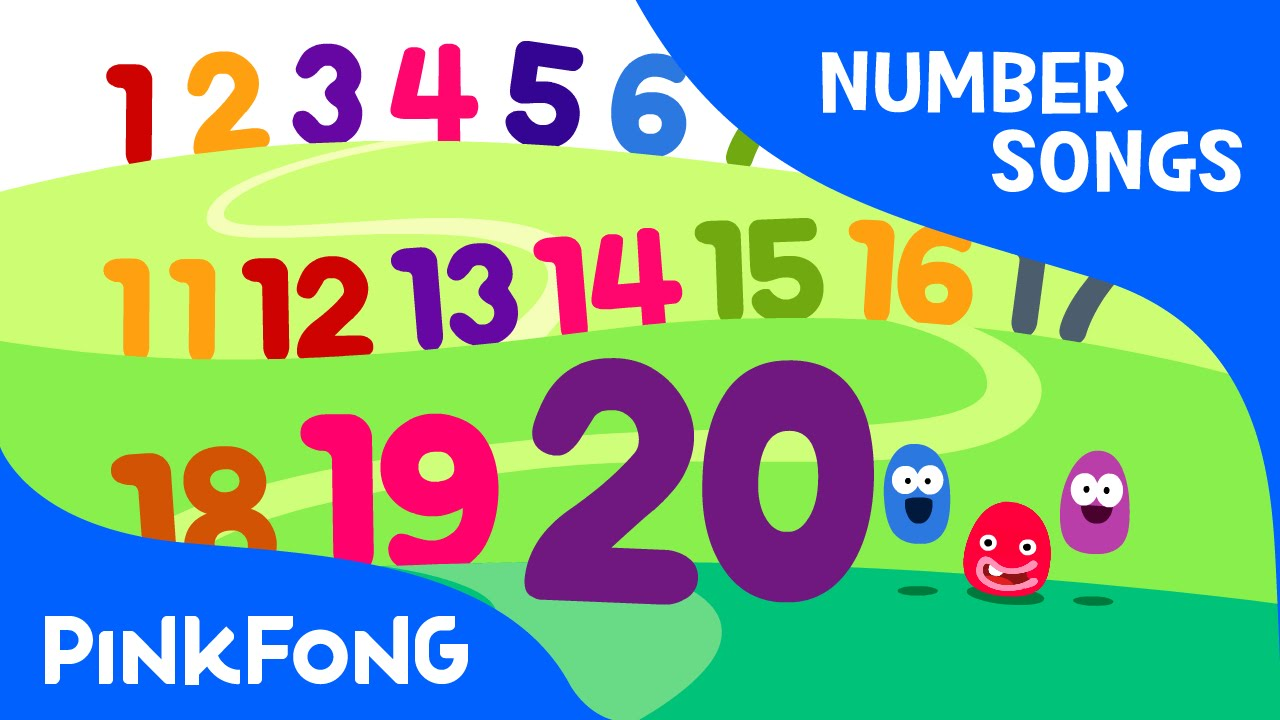 Counting 1 to 20 | Number Songs | PINKFONG Songs for Children - YouTube