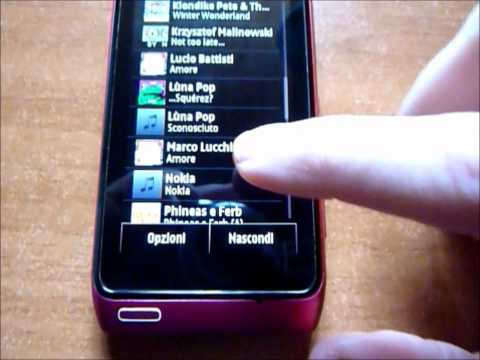Symbian Anna vs Symbian Belle sul Nokia N8 Pink