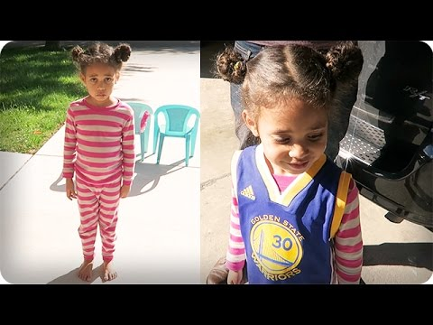 new products 925f4 c18e7 Little Girl Cries Over Steph Curry Jersey
