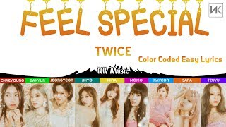 TWICE - Feel Special [Color Coded Easy Lyrics]