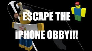 Roblox l Escape The iPhone Obby All Stage Clear l Midas