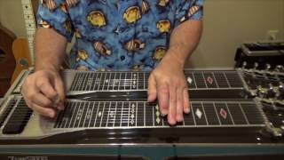 20 chords in 1 position on the pedal steel guitar