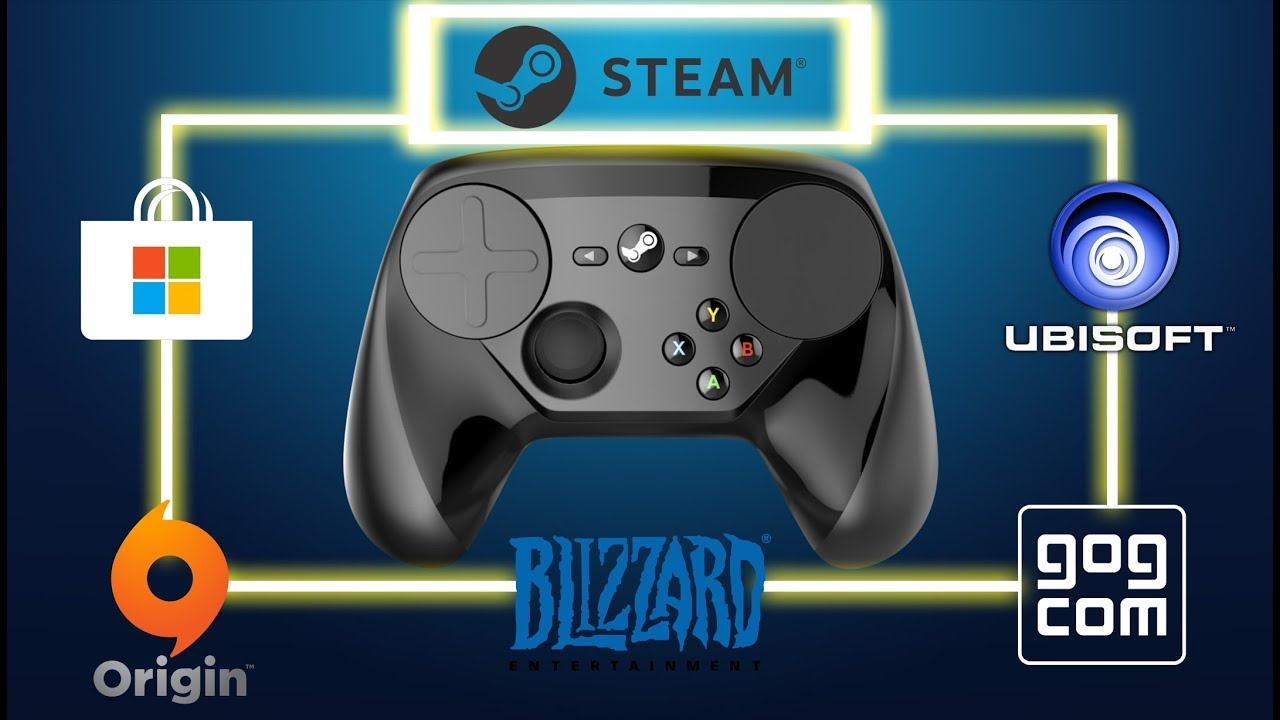 How to us your controller in steam and none steam games including UWP games