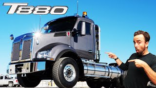 T880 Construction Truck - WATCH TO THE END!!!