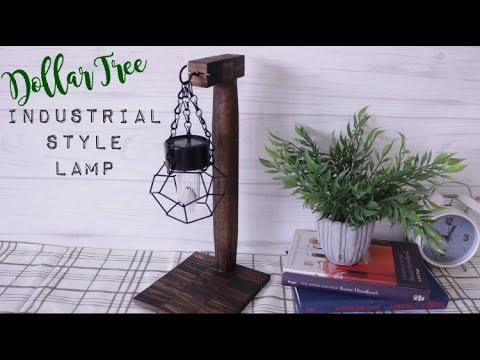 Dollar Tree DIY Farmhouse Lamp