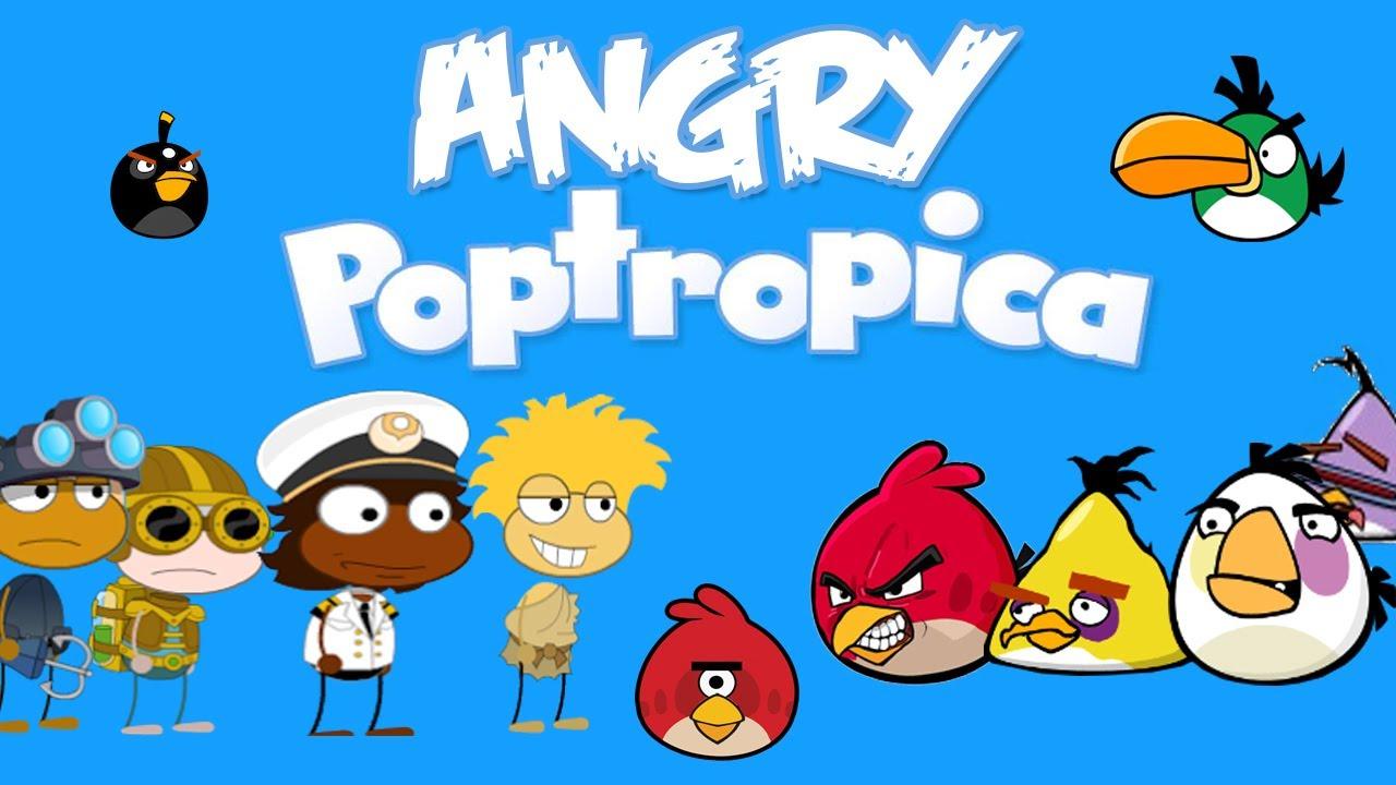 Angry Poptropica Poptropica Meets Angry Birds Parody Video