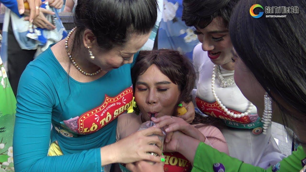 """Lô tô show: Châu Pha học đòi """"Này anh yêu em muốn uống tà tưa"""" và cái kết SML"""