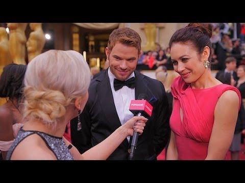 Kellan Lutz and Olga Kurylenko Talk Sustainable Fashion and Partying Down at Oscars