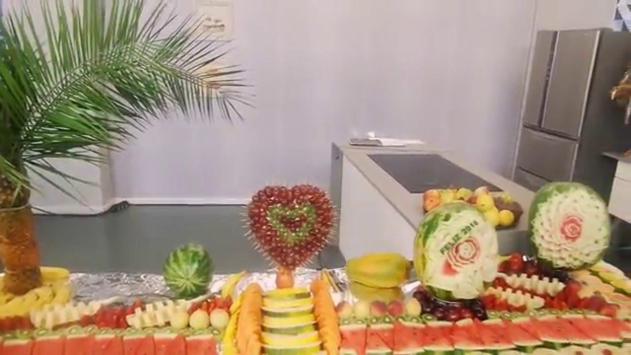 Dica para montar mesa de fruta para ceia de final YouTube -> Decoraçao Com Frutas Para Ano Novo