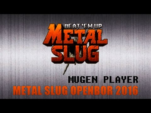 METAL SLUG BEAT 'EM UP OPENBOR 2016