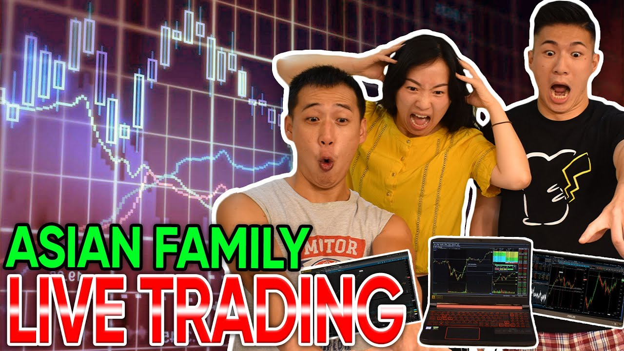 Day Trading LIVE with my Asian Family (Day Trading Penny stocks & Large cap stocks)