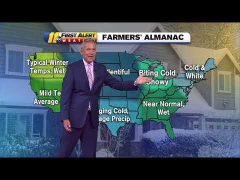 Farmer's Almanac releases winter forecast