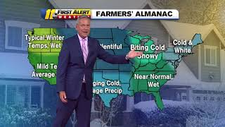 Farmer's Almanac releases winter forecast