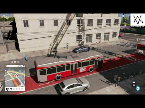 Don't put a bus in a crane (Watch Dogs 2)