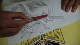 How to draw toshiro hitsugaya from bleach tutorials and