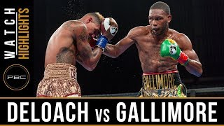 Deloach vs Gallimore HIGHLIGHTS: July 30, 2017 - PBC on FS1