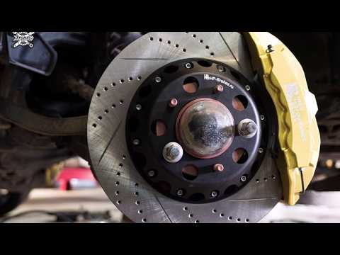 Полный апгрейд тормозов Toyota LC200