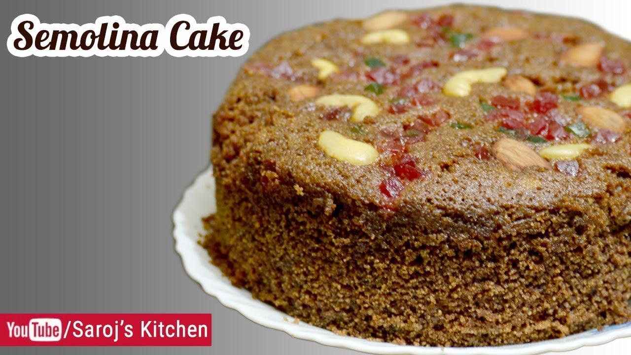 Cake Making In Pressure Cooker Malayalam: Chocolate Sooji Cake In Pressure Cooker