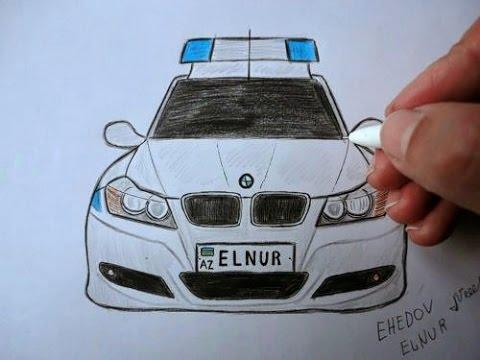 BMW polis masinini nece cekmek...
