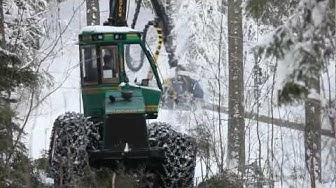 Kunkoululoppuu.fi / Metsäkoneenkuljettaja