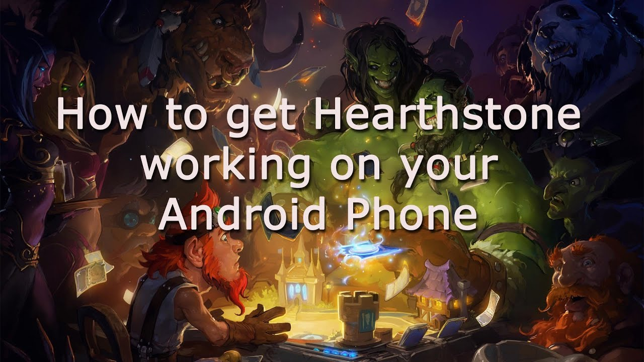 install hearthstone on sd card