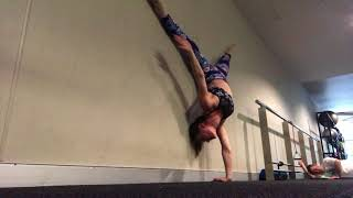 One arm handstand PB
