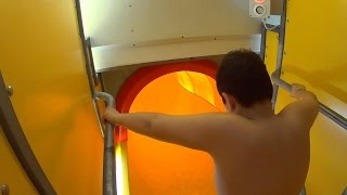 Golden Vortex Water Slide at Lost City
