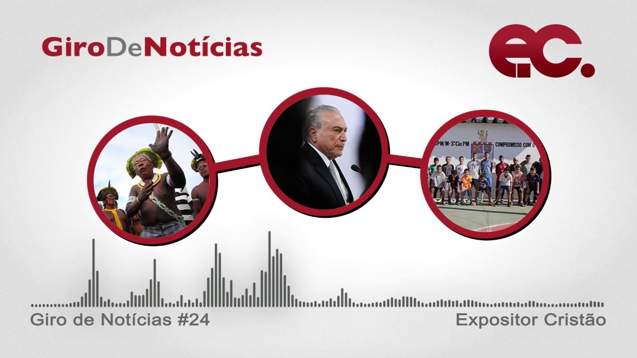 Giro de notícias #024 - Giro Regional REMNE - Esporte Vida - Chamamento ao povo metodista brasileiro