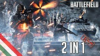 Battlefield 4: 2in1 Co-op Gameplay #1 - Rush on Altai Range (PC) (HUN) (HD)