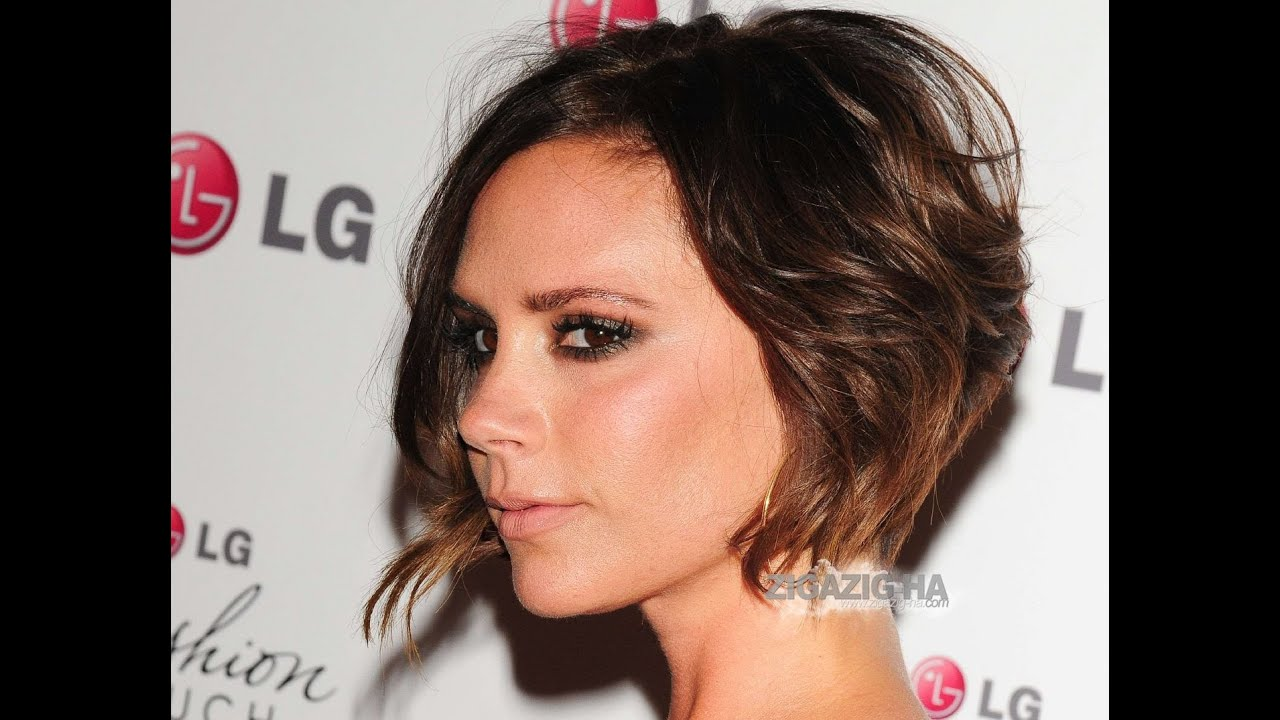 The Latest Trend In Victoria Beckhams Hairstyle Victoria Beckhams