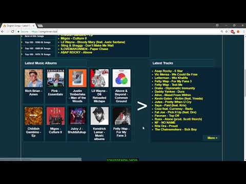 best website to download english songs